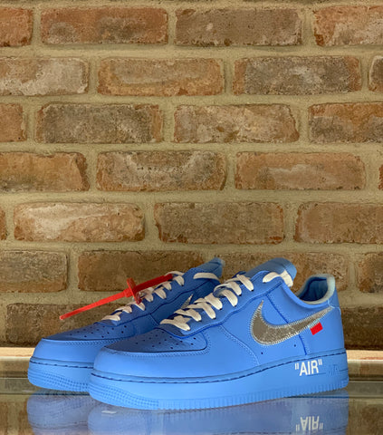 NIKE X OFF WHITE ' AIR FORCE ONE BLUE MCA '