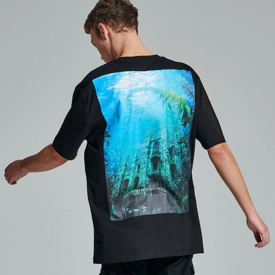 UNDERWATER MILANO TEE BLACK - DOLLY NOIRE