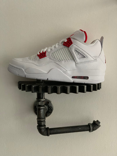 AIR JORDAN 4 METALLIC PACK WHITE RED