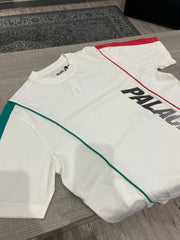 PALACE P-LINE RACER TEE WHITE
