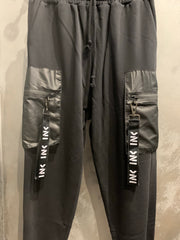 HANGAR CARGO 1 PANTS BLACK - Inkover Fashion