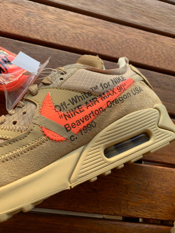 NIKE X OFF WHITE AIR MAX 90 - DESERT ONE