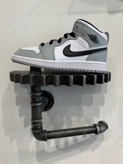 AIR JORDAN 1 MID LIGHT SMOKE GREY - INFANT/BABY