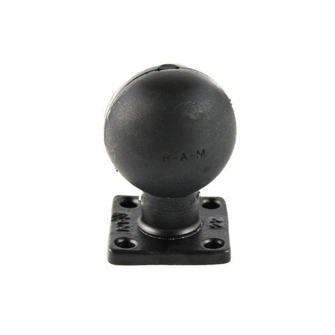 RAM D Size Ball Rectangle Plate with 2 x 2 Pattern (RAM-D-202U-22) - Image1