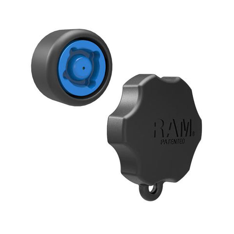 "4 RAM Pin-Lock Security Knob and Key Knob for 1.5"" Diameter C Size Arms (RAP-S-KNOB5-4U) - RAM Mounts Pakistan"