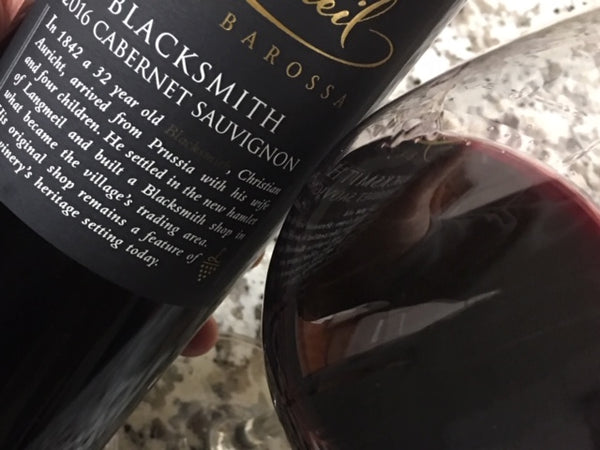 2016 Langmeil Blacksmith Cabernet Sauvignon - Barossa Valley, Australia - SAVE 23%