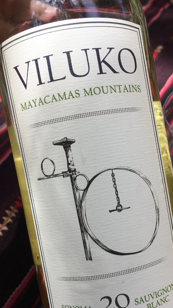 2016 Viluko Vineyards Sauvignon Blanc - Mayacamus Mountains, Sonoma - Save 20%