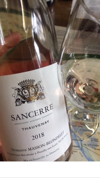 2018 Domaine Masson Blondelet Sancerre Rose' - Loire, France - SAVE 23%