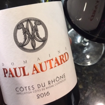 2016 Paul Autard Cotes du Rhone - Rhone Valley, France - SAVE 22%