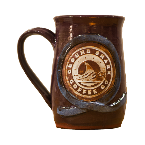Blue Belt Hand Made Mug