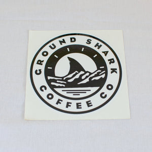 Large Ground Shark Sticker