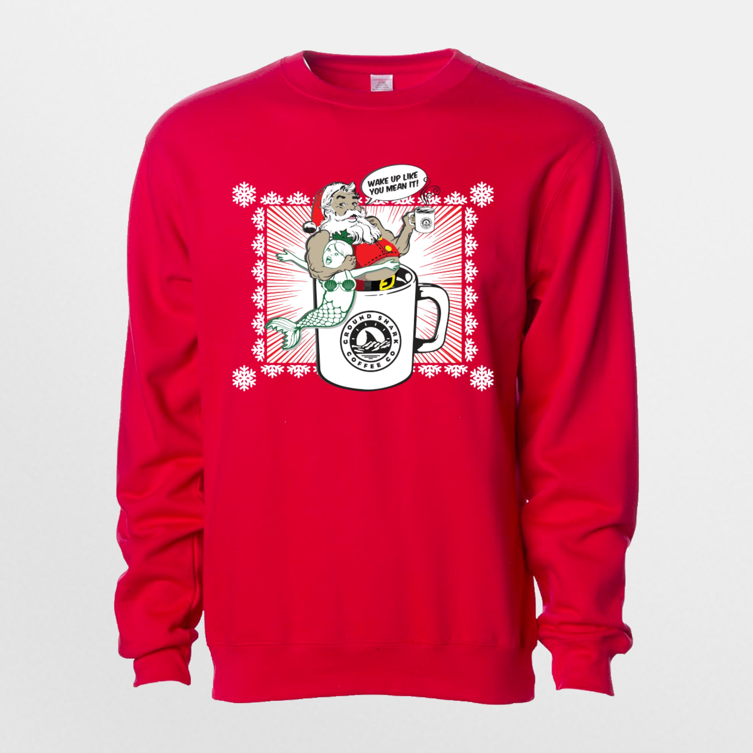 Santa Knows Best Christmas Sweater