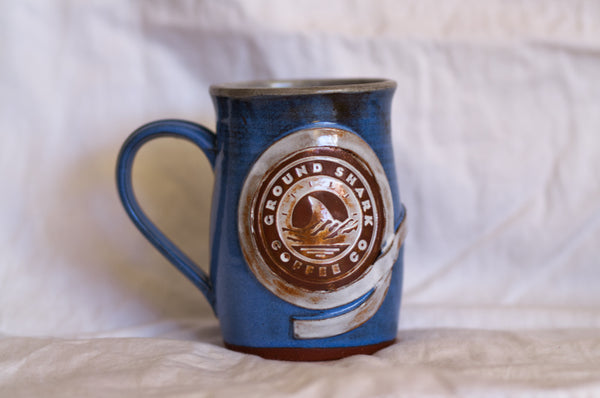Hand Made White Belt Mug