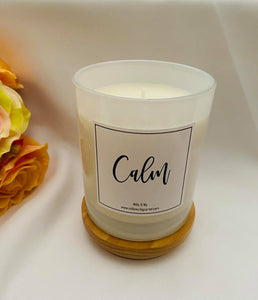 "Essential Oil Soy Candle - ""Calm"""