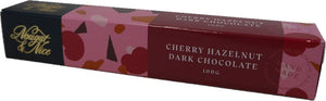Nougat - Cherry Hazelnut Dark Chocolate 100g Bar