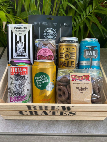 Craft Beer of WA, Beef & Choc Crate