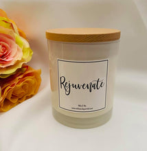 "Load image into Gallery viewer, Essential Oil Soy Candle - ""Rejuvenate"""