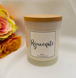 "Essential Oil Soy Candle - ""Rejuvenate"""