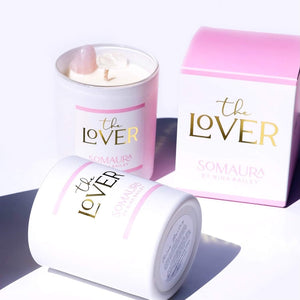Crystal Soy Candle - The Lover, by Nina Bailey Luxury Collection