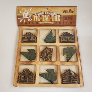 Tic Tac Toe Cabin Tree Game