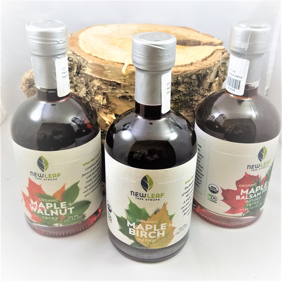 New Leaf Tree Syrups