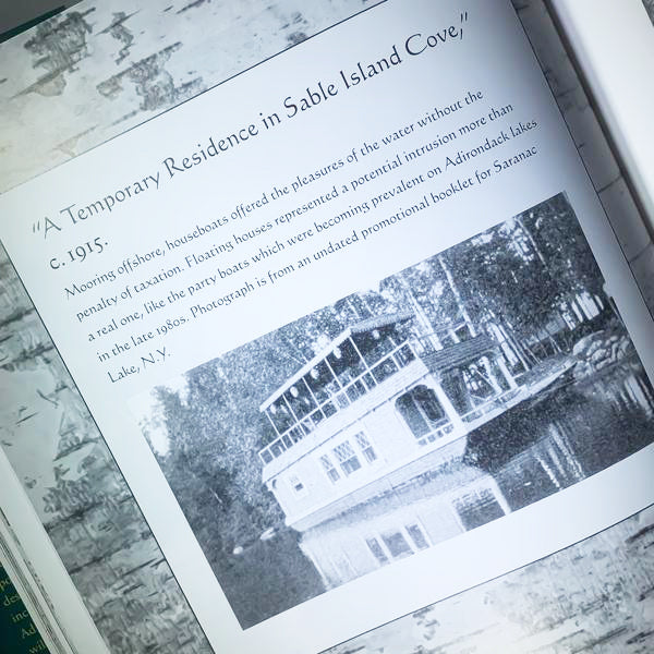 a page from inside the book Adirondack Camps
