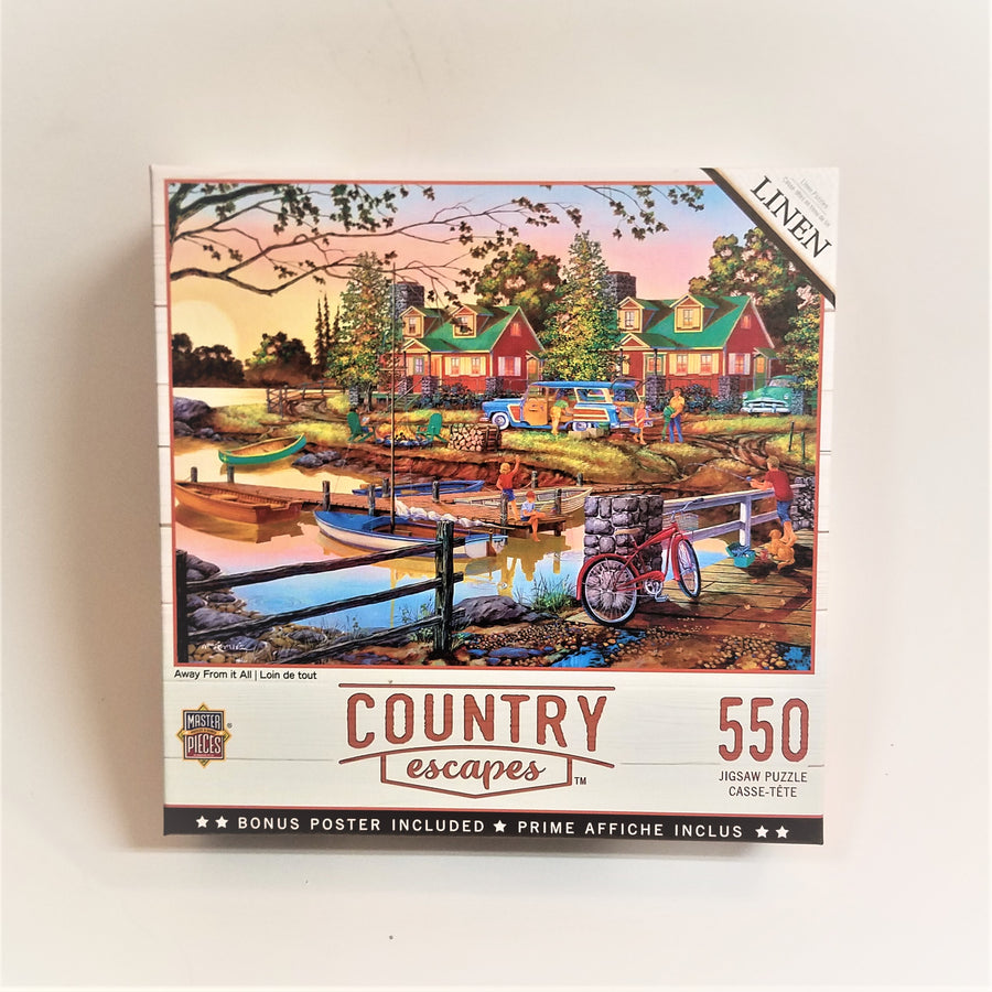Country Escapes Away from It All Jigsaw Puzzle