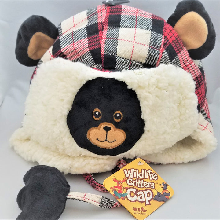 Wildlife Critter Bear Cap