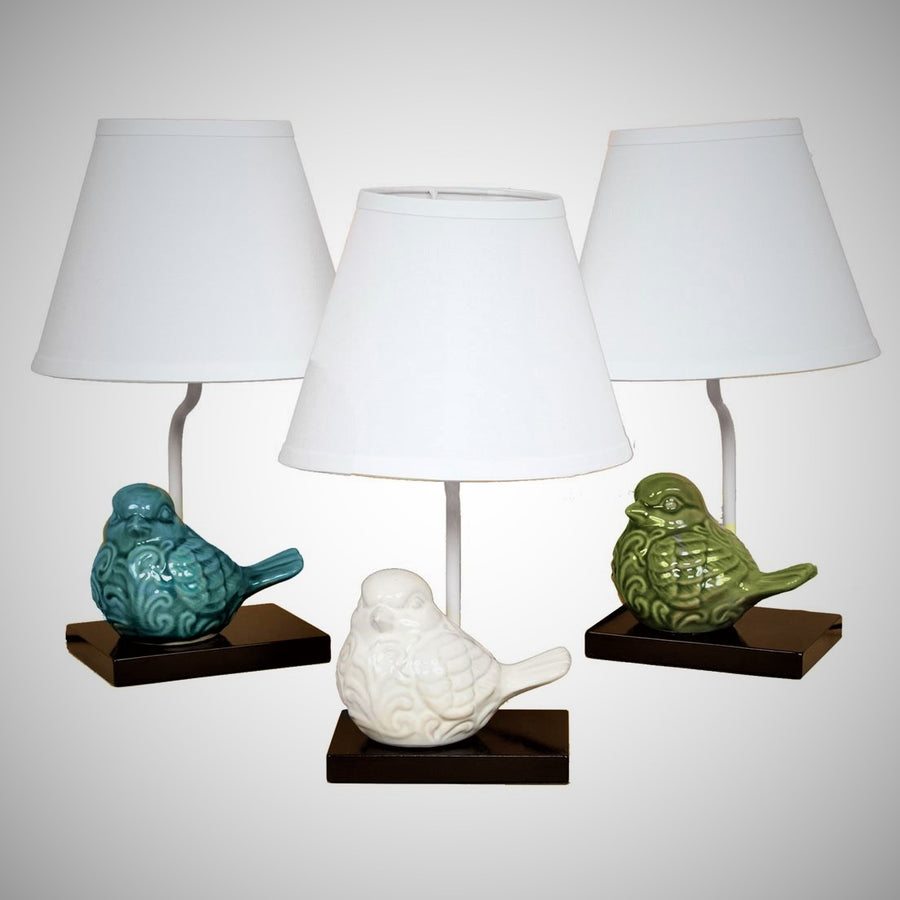 Table Lamps with a Bird Theme