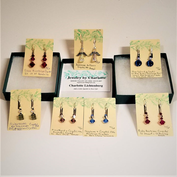Jewelry by Charlotte--Handmade Earrings