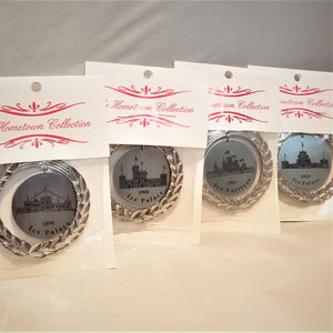 Saranac Lake Winter Carnival Ice Palace Ornaments