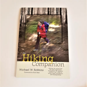 Cover photo depicts a young person hiking in motion so the photo is slightly blurred intentionally.