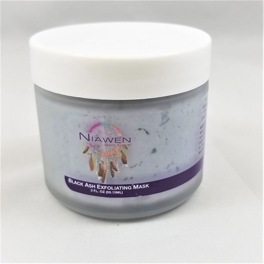 Niawen Black Ash Exfoliating Mask
