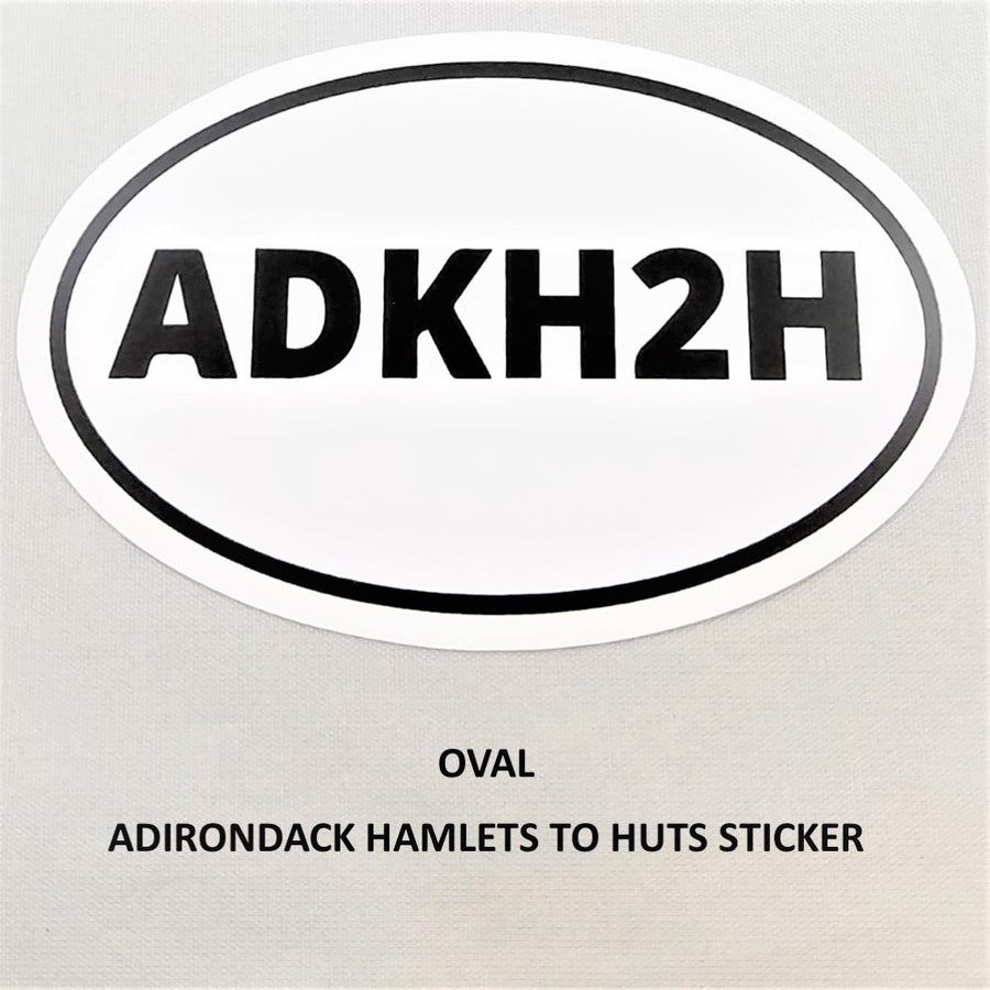 Oval ADKH2H Sticker