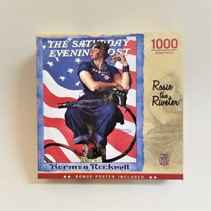 Rosie the Riveter--The Saturday Evening Post