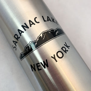 Saranac Lake Stainless Steel Water Bottle