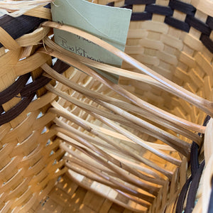 Wine Basket by Northwoods Basketweaver