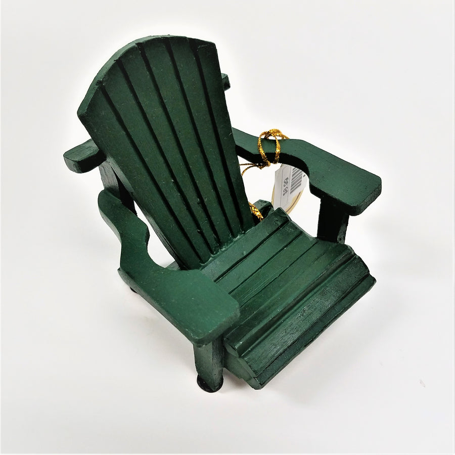 mini green Adirondack chair