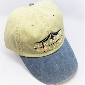 full view of Adirondack Carousel embroidered baseball cap