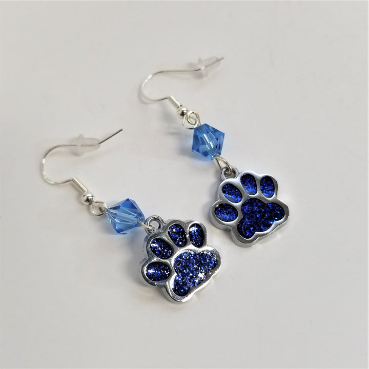 Paw Earrings from BJ's Adirondack Bits