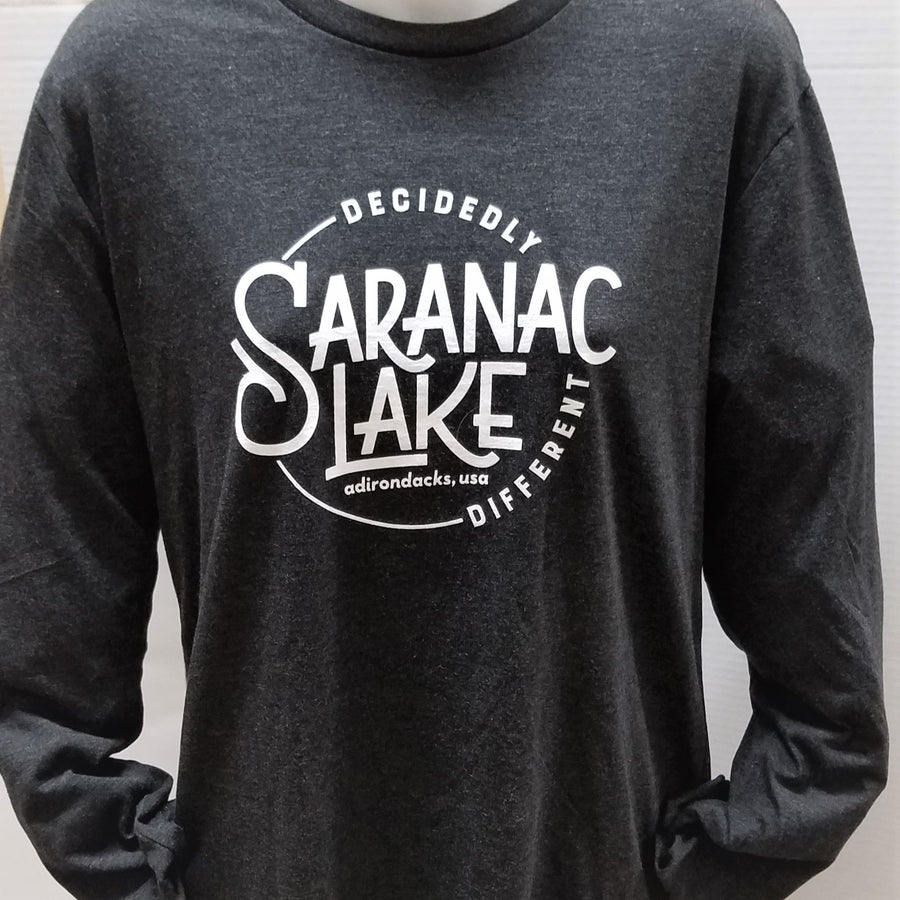Unisex Saranac Lake Decidedly Different Long-Sleeve Tee