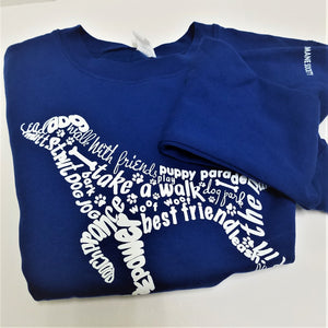 Sweatshirts & T-Shirts from the Tri-Lakes Humane Society