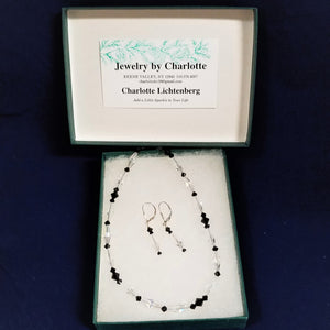Jewelry by Charlotte--Necklace and Matching Earrings