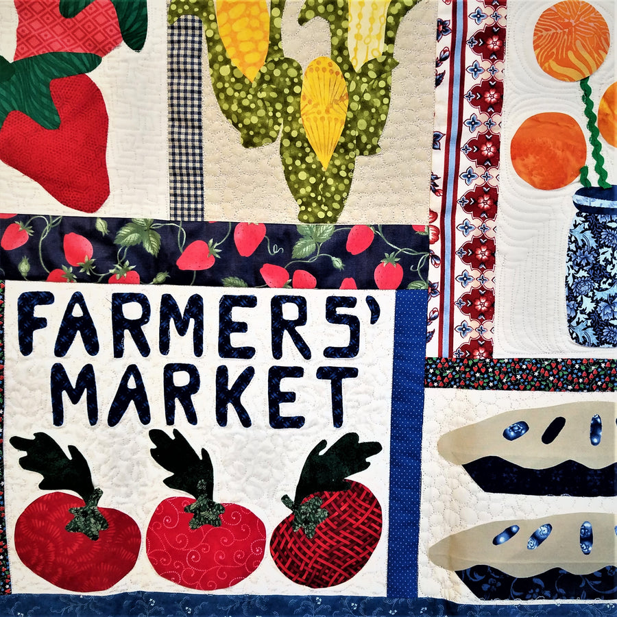 Farmer's Market Quilt from Cabin Creek Stitchery
