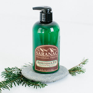 Saranac Mountain Hearth Lotion