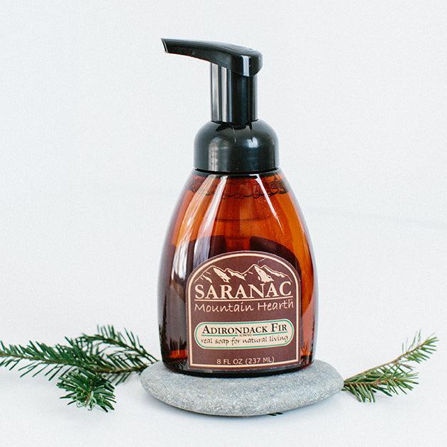 Saranac Mountain Hearth Foamer Soap