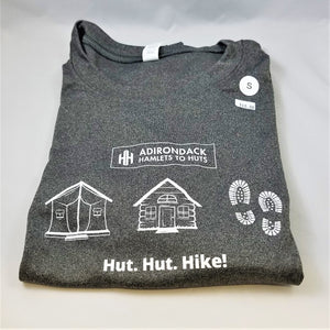 Hut, Hut, Hike Unisex Shirts