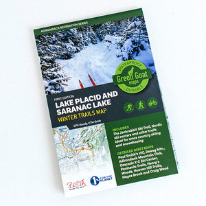 Green Goat Winter Trails Map