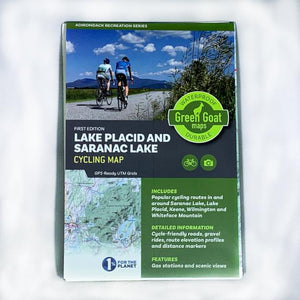 Green Goat Cycling Map