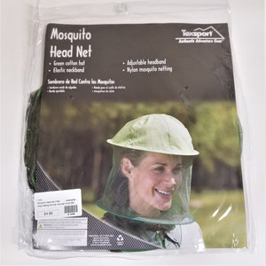 Mosquito Head Net with Hat